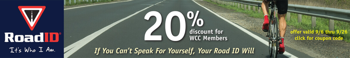 Road ID 20% off for WCC Members