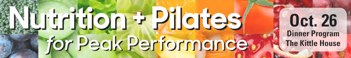 Nutrition and Pilates for Peak Performance