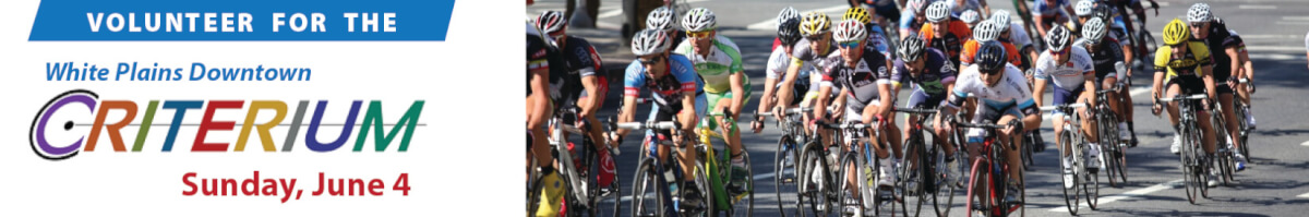 Volunteer for the White Plains Crit