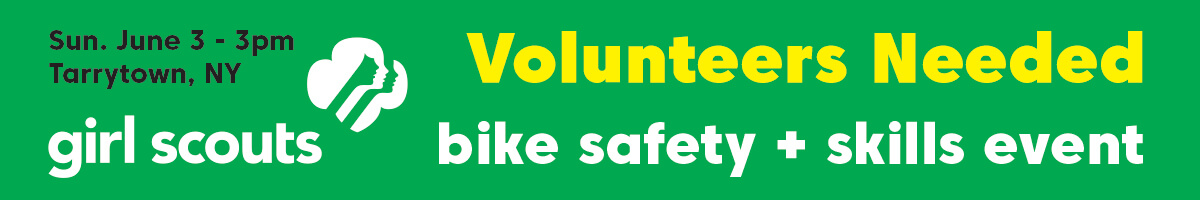 Volunteers needed for Girl Scouts Bike Safety Event